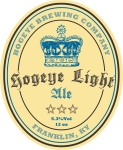 Hogeye Brewing Company Label